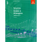 Violin Scales & Arpeggios, ABRSM Grade 3 : From 2012