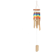 Multicolour Bamboo Windchime with thread