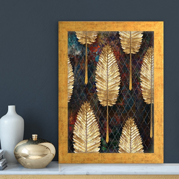 AC1588173010 Multicolor Decorative Framed MDF Painting