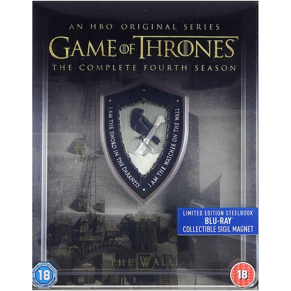 Game Of Thrones: Complete Fourth Season - Limited Edition Steelbook Blu-ray