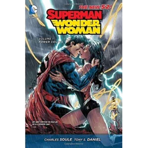 Superman Wonder Woman Volume 1 Power Couple The New 52 Hardcover