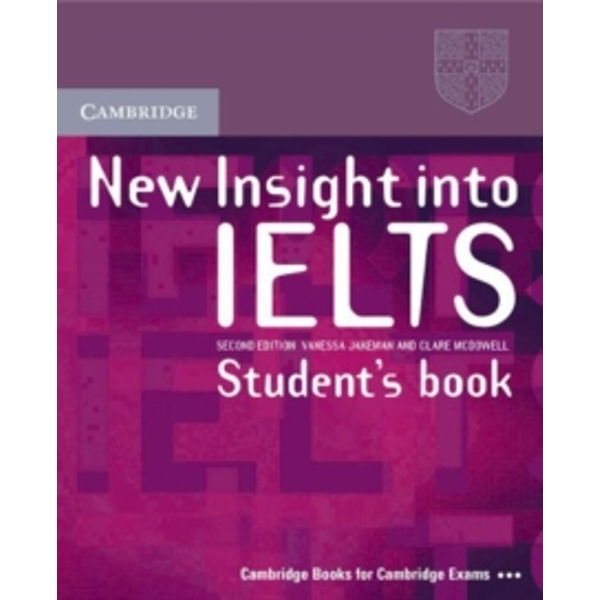 New Insight into IELTS Student's Book with Answers by Vanessa Jakeman, Clare McDowell (Paperback, 2008)