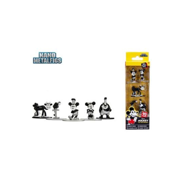 Mickey's 90th Disney Nano Metalfigs (5-Pack) Diecast Mini Figures