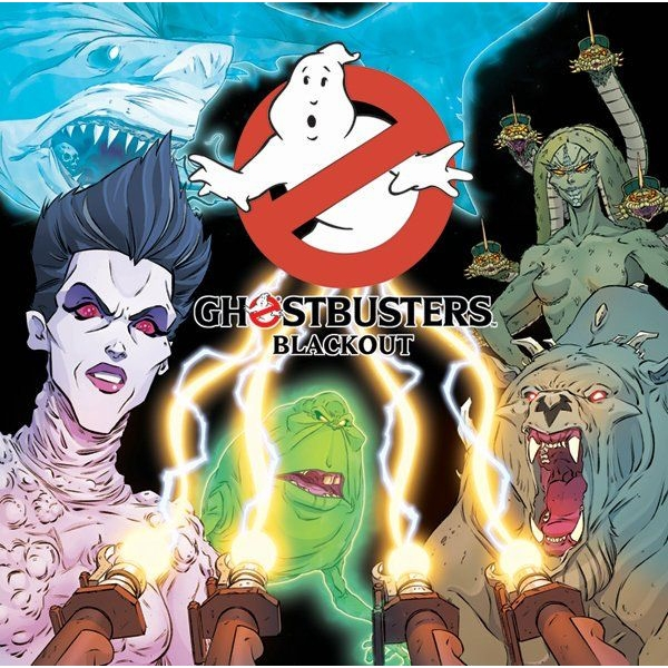 Ghostbusters Blackout Board Game