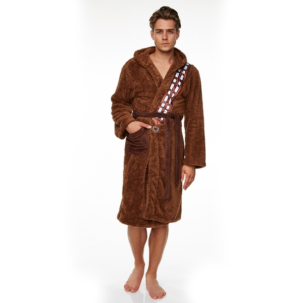 Star Wars Chewbacca Adult Fleece Bathrobe