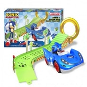 Meccano Sonic The Hedgehog Sonic & Green Hill Ramp Playset