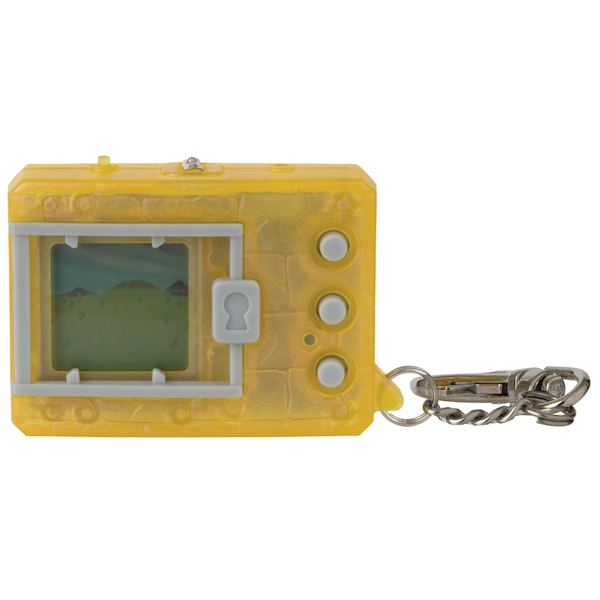 Translucent Yellow Digimon Bandai Digivice Virtual Pet Monster