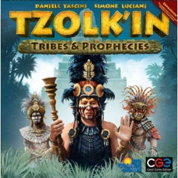 Tzolkin The Mayan Calender Tribes & Prophecies Board Game