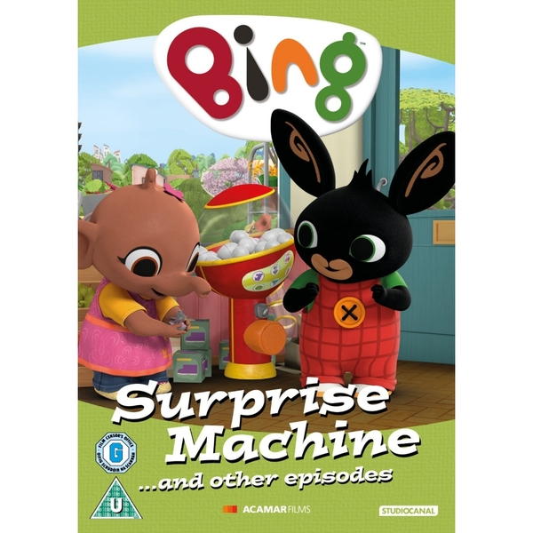 Bing Surprise Machine And Other Episodes DVD