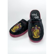 Gyffindor Harry Potter Mule Slippers Black & Burgundy Adult Medium UK Size 5-7