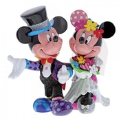 Mickey & Minnie Mouse Wedding (Classic Disney) Disney Britto Figurine