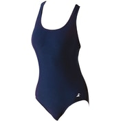 SwimTech Splashback Navy Swimsuit Adult - 34 Inch