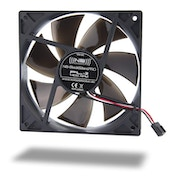 Noiseblocker BlackSilent Pro Fan PL2 Fan - 120mm (1400rpm)