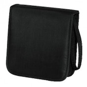 Hama CD Wallet Nylon 20 Black - 00033830