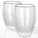 Double Walled Insulated Tea & Coffee Glasses | M&W Set of 2 - 350ml - Image 3
