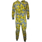 Simpsons Onesie Large One Colour