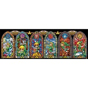 The Legend Of Zelda - Stained Glass Slim Poster