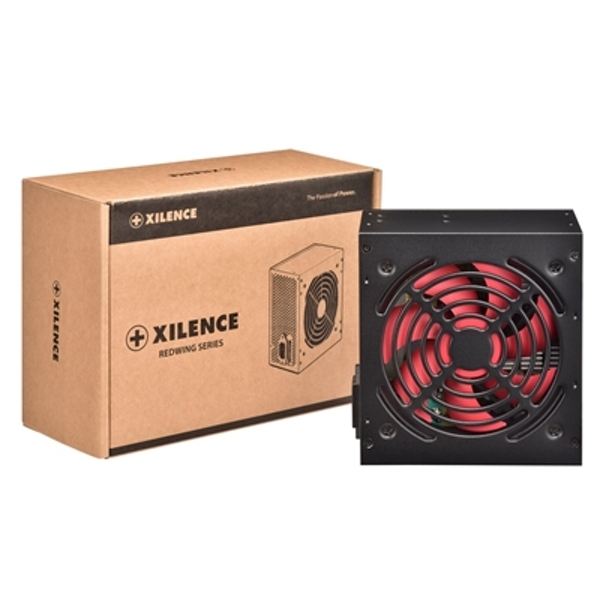 Xilence Redwing 400W 120mm Red Silent Fan OEM System Builder PSU - Image 1