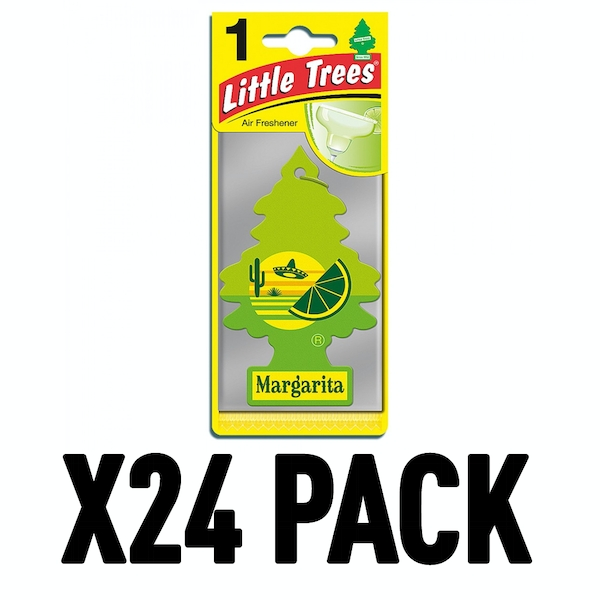Margarita (Pack Of 24) Little Trees Air Freshener