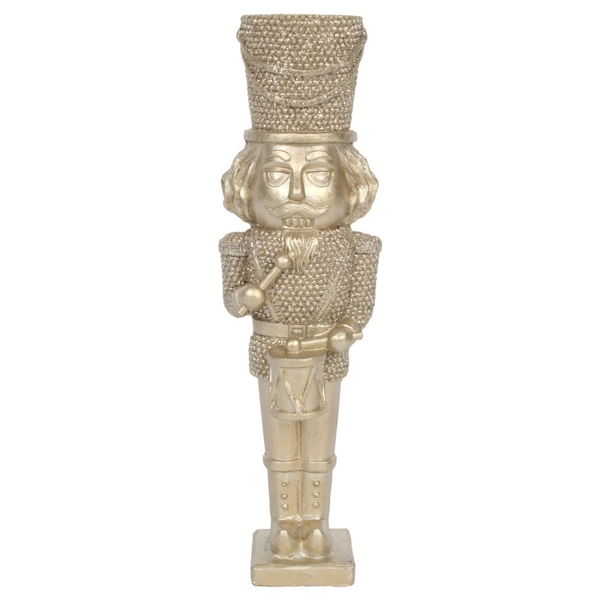 Champagne Nutcracker Ornament