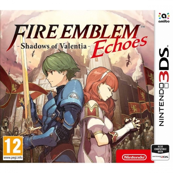Ex-Display Fire Emblem Echoes Shadows of Valentia 3DS Game