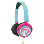 Lexibook HP017UNI Unicorn Foldable Stereo Headphones with Volume Limiter