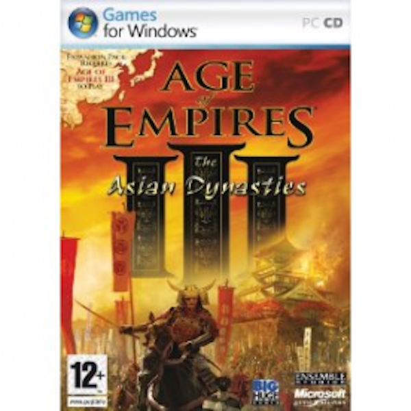 Age Of Empires III The Asian Dynasties Expansion Pack Game PC