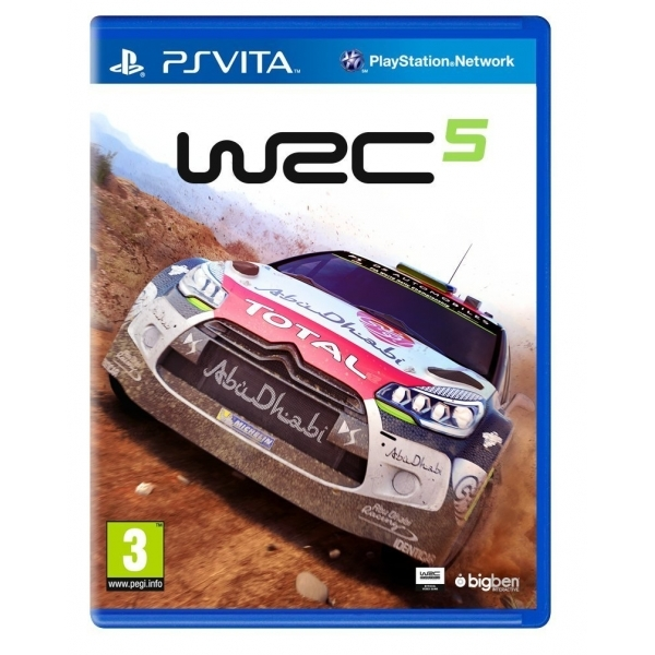 WRC 5 World Rally Championship PS Vita Game