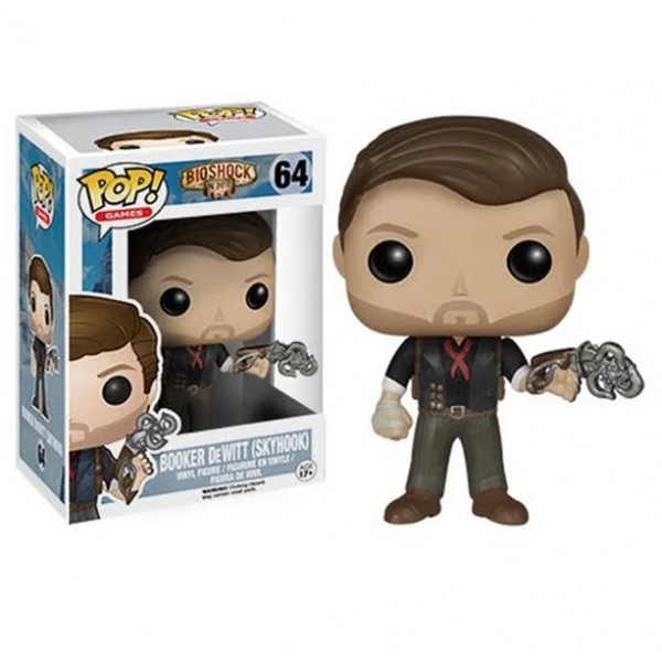 Booker DeWitt with Sky-Hook (BioShock) Funko Pop! Vinyl Figure - Image 1