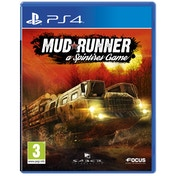 Spintires Mudrunner PS4 Game