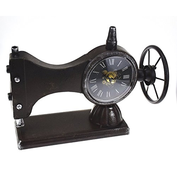 Hometime Mantel Clock - Sewing Machine