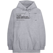 The 1975 - ABIIOR Version 2. Men's Small Pullover Hoodie - Grey