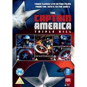 Captain America Collection Triple Box Set (1990) DVD