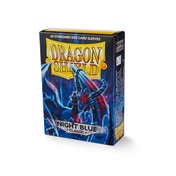 Dragon Shield Classic - Night Blue 60 Sleeves In Box - 10 Packs