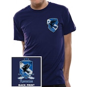 Harry Potter - House Ravenclaw Men's Small T-Shirt - Blue