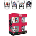 Suicide Squad Harley Quinn Mix Shot Glasses