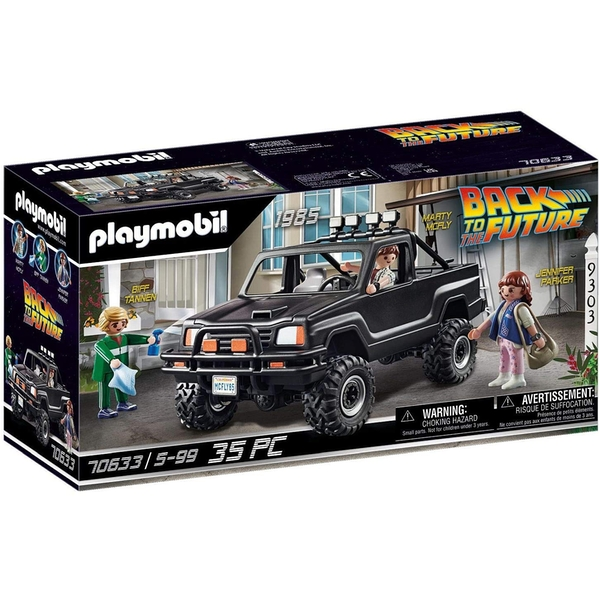 Playmobil Back To The Future Marty Pick Up Truck Playset
