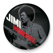 Jimi Hendrix - Solo Badge