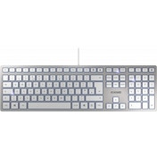 CHERRY KC 6000 Slim USB QWERTY UK Layout Silver