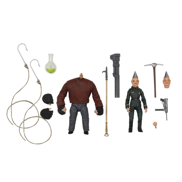 NECA Puppet Master 1/10 Scale Action Figure Ultimate Pinhead & Tunneler 2 Pack