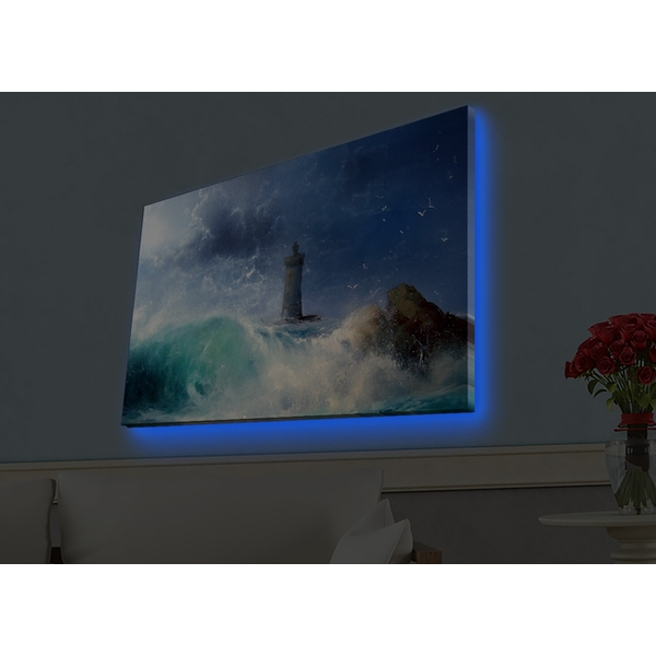 4570HDACT-050 Multicolor Decorative Led Lighted Canvas Painting