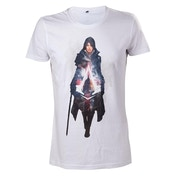 Assassin's Creed Syndicate Evie Frye Large White T-Shirt