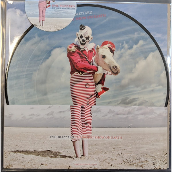 Evil Blizzard - The Worst Show On Earth Picture Disc Vinyl