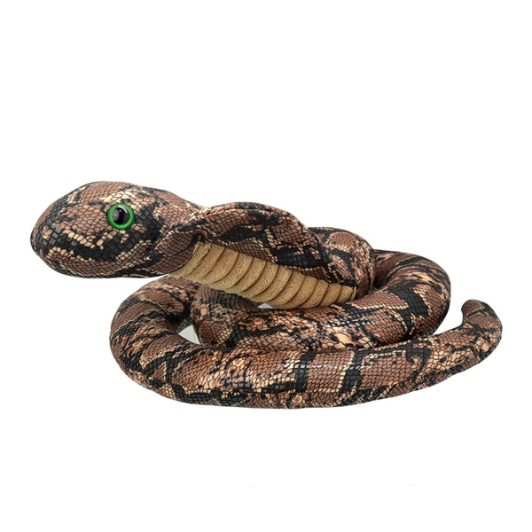 All About Nature Naja Snake 50cm Plush