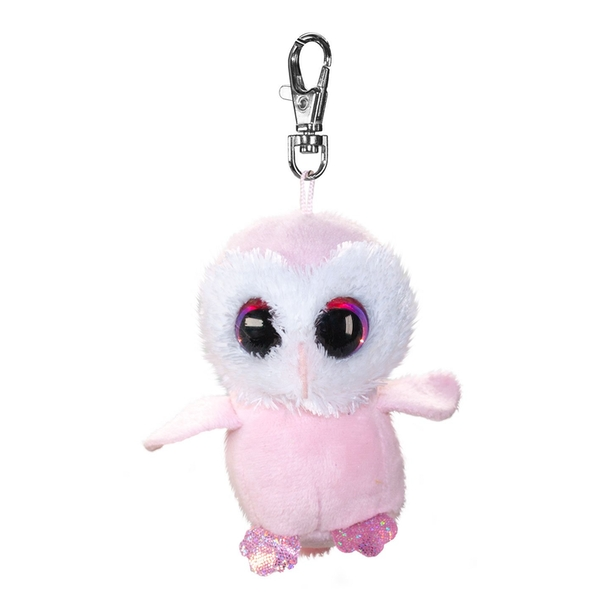 Lumo Stars Mini Keyring - Owl Pollo Plush Toy