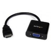 StarTech 1920x1080 HDMI to VGA HD15 Monitor Male to Female Adapter Converter for Desktop PC/Laptop/Ultrabook