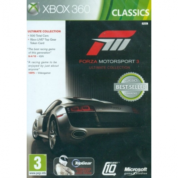 Forza 3 Ultimate Edition Game (Classics) Xbox 360 - Image 1
