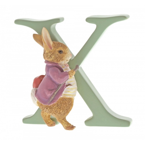 Letter X Old Mr Benjamin Bunny Figurine