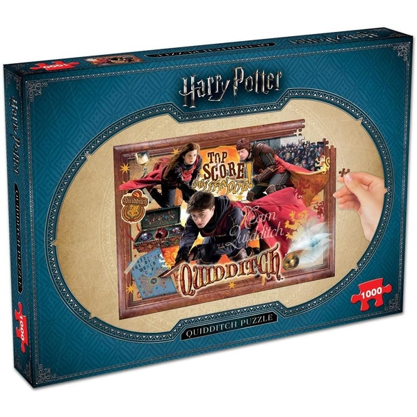 Harry Potter Quidditch Jigsaw Puzzle - 1000 Pieces
