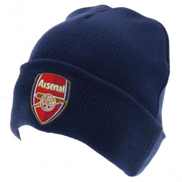 Arsenal FC Navy Knitted Hat TU